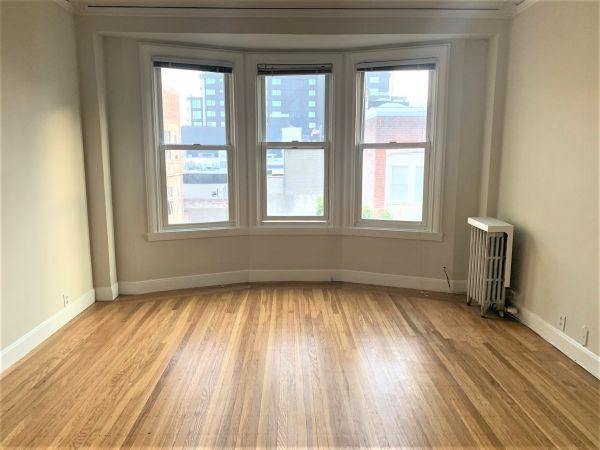 1835 Clay Street, #403 - Charming Top Floor Junior One Bedroom Apartment